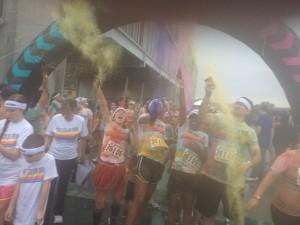 """Color Run"" Lubin Lab 2013"