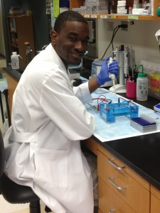 Jarvis Johnson, Biology Major/Merck Scholar 2013-14